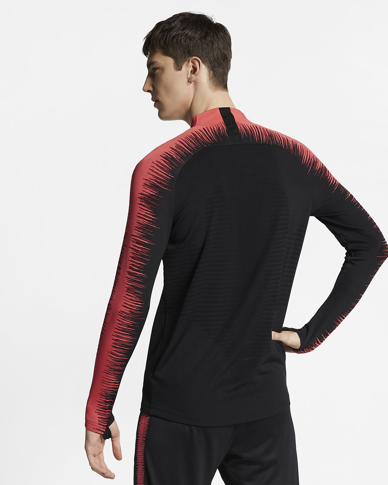 Nike VaporKnit Strike Men's Long-Sleeve Football Top