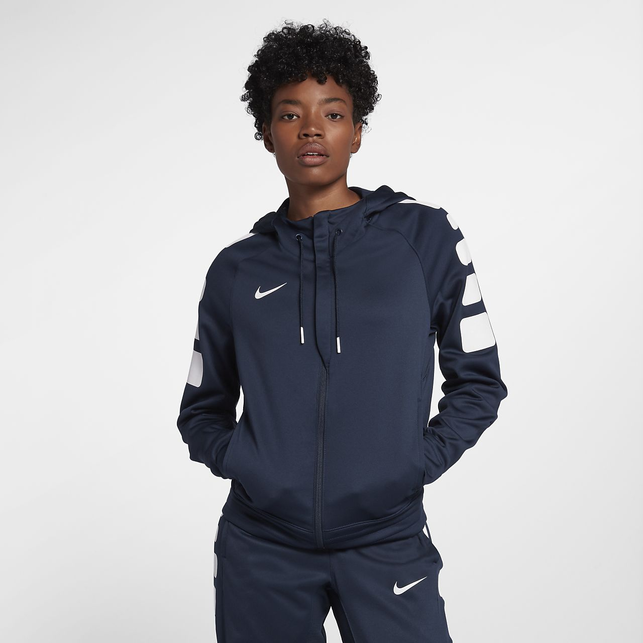 74ab2d4d1df3 Nike Therma Elite Women s Basketball Hoodie. Nike.com
