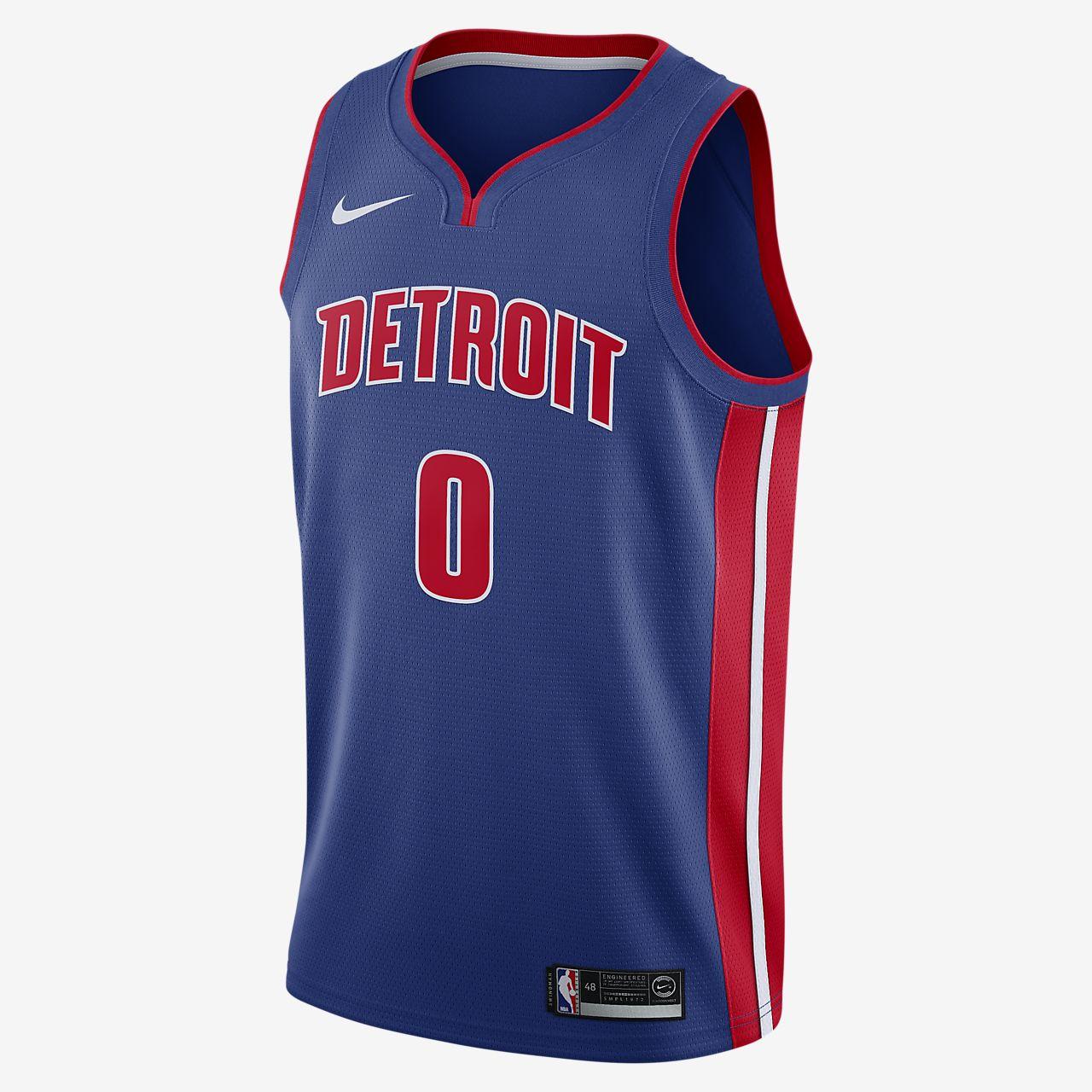 Andre Drummond Pistons Icon Edition Nike NBA Swingman Jersey