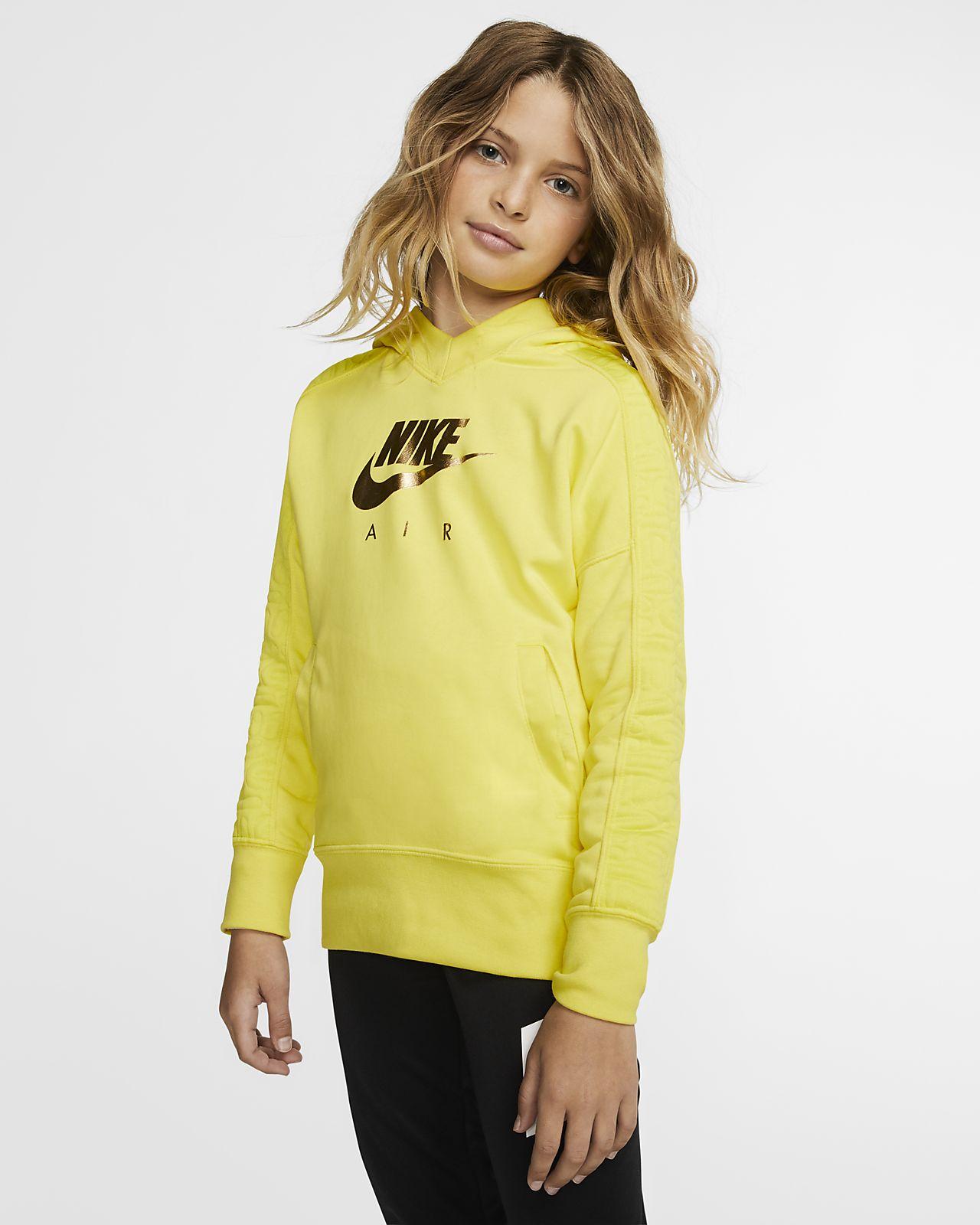 Nike Air 大童(女孩)套头连帽衫
