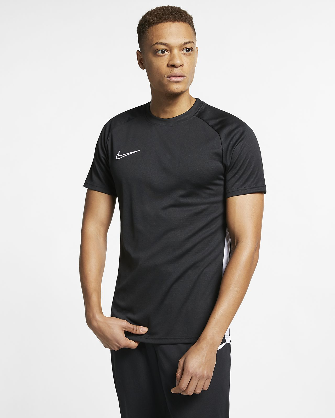 Nike Dri-FIT Academy Men's Soccer Short-Sleeve Top. Nike.com