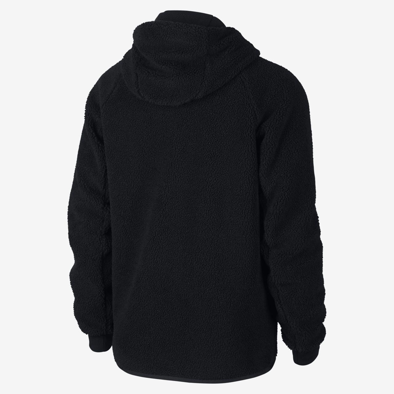 47bab84c7 Nike Sportswear Windrunner Tech Fleece Men's Sherpa Hoodie. Nike.com GB