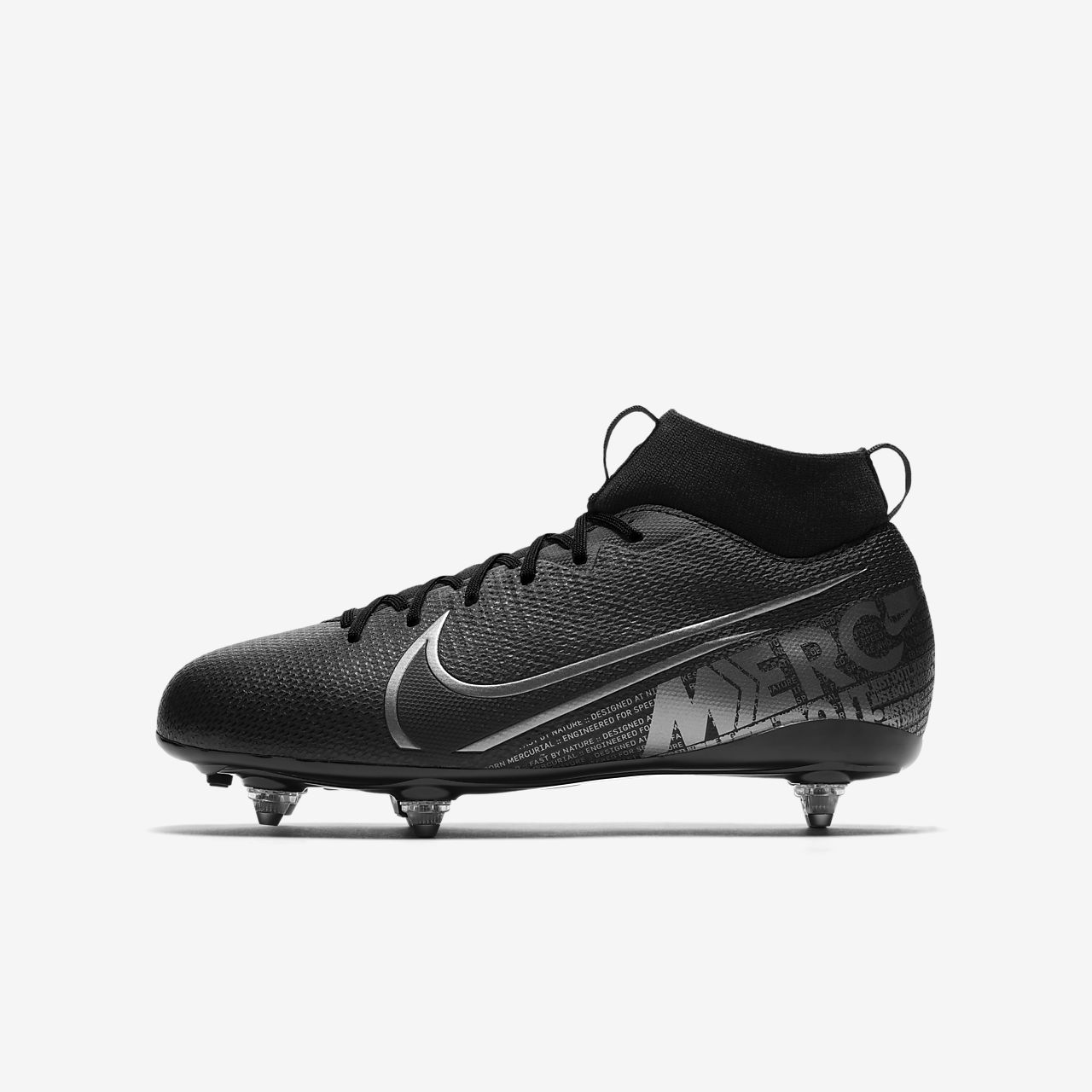 Nike Jr. Mercurial Superfly 7 Academy SG Younger/Older Kids' Soft-Ground Football Boot
