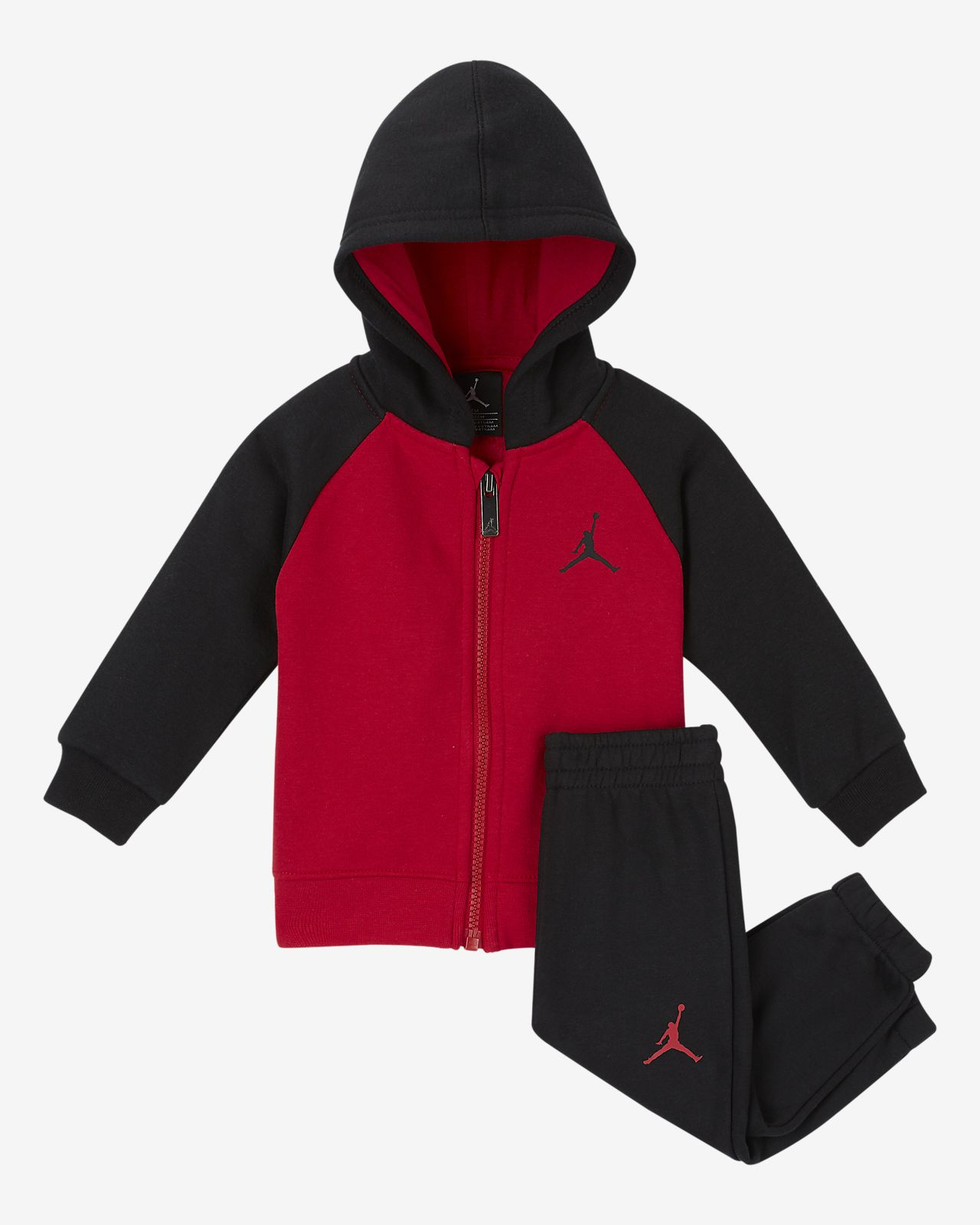 Jordan Baby (12-24M) Fleece 2-Piece Set