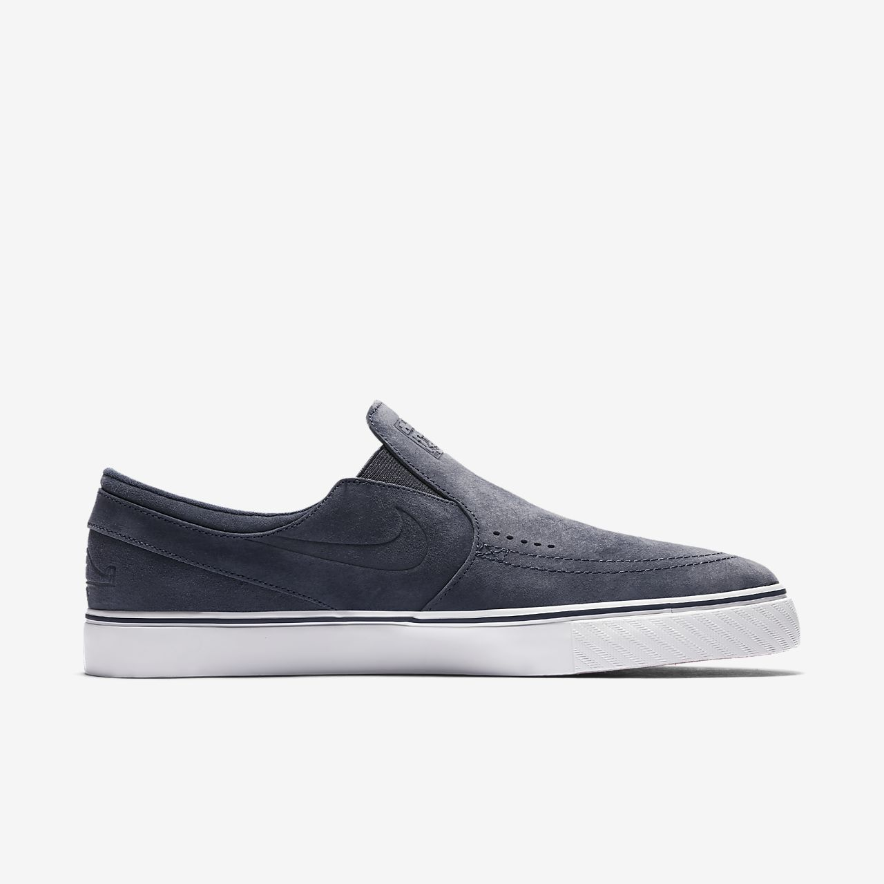 ... Nike SB x Poler Zoom Stefan Janoski Slip-On Suede Men's Skateboarding  Shoe
