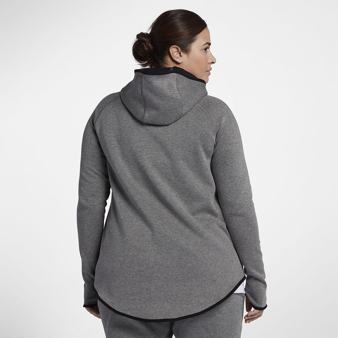 1744ec0c8348 Nike Sportswear Tech Fleece (Plus Size) Women s Full-Zip Cape. Nike.com