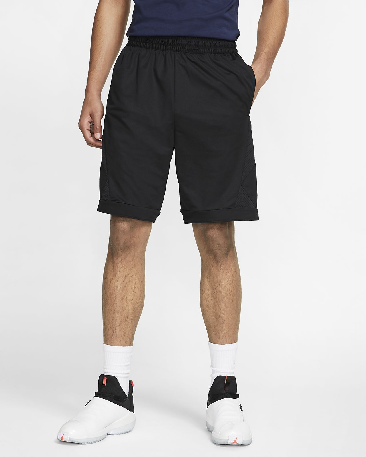 promo code bf0fb bcd72 ... Jordan Authentic Triangle Men s Basketball Shorts