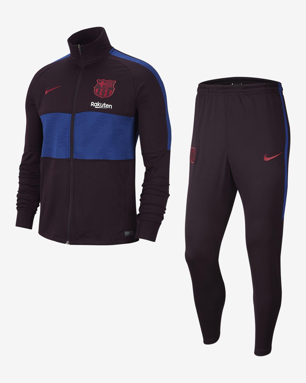 FC Barcelona Strike-fodboldtracksuit til mænd