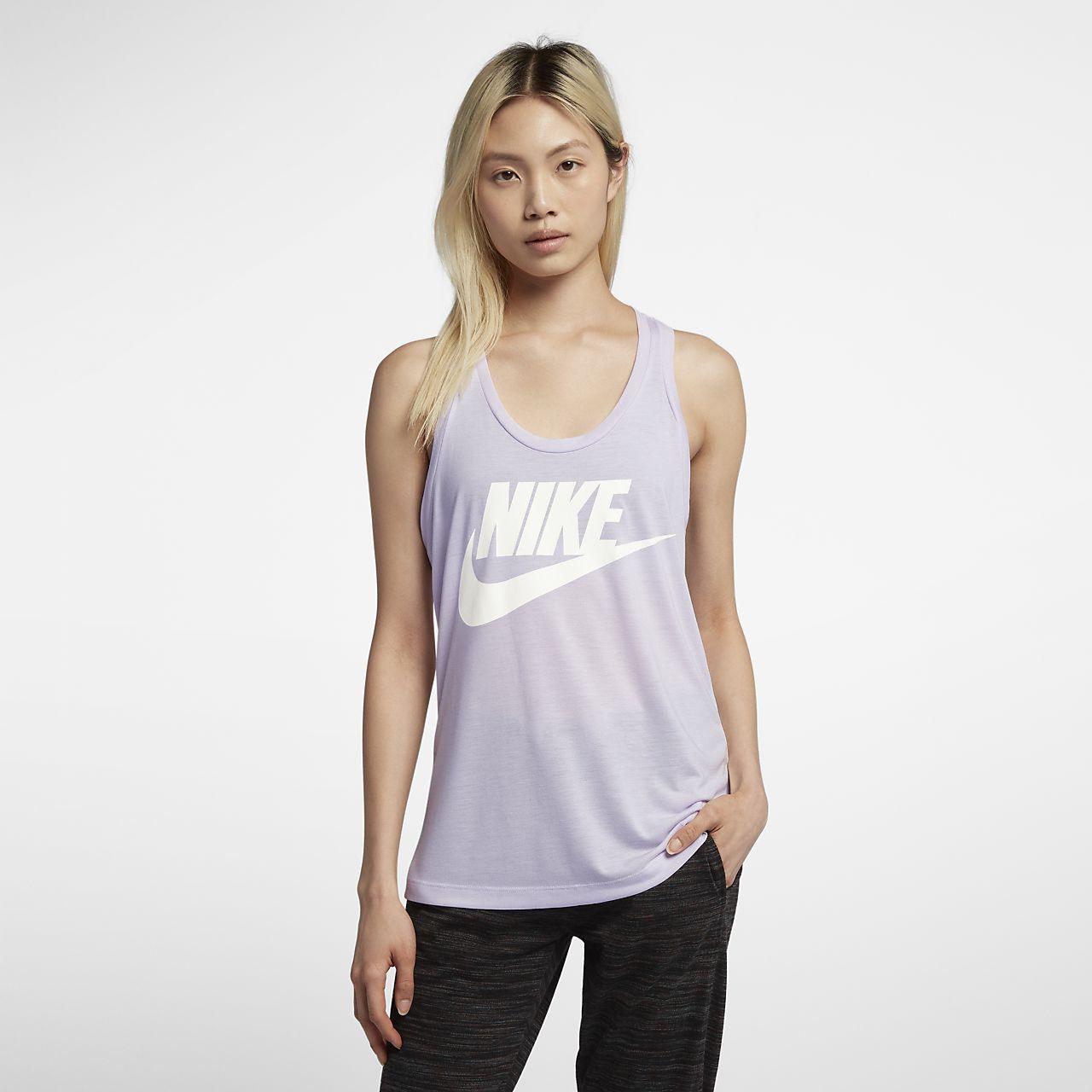 435feec49a8678 Nike Sportswear Essential Womens Logo Tank ...