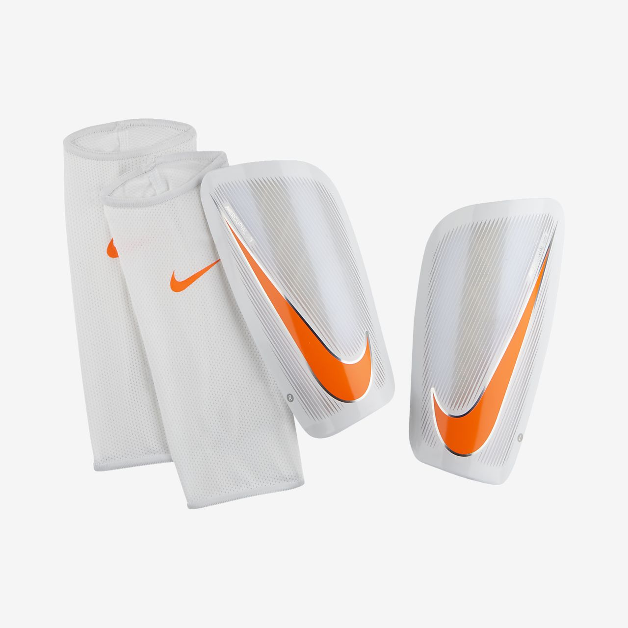 buy popular f7ae1 1615d Football Shinguards. Nike Mercurial Lite