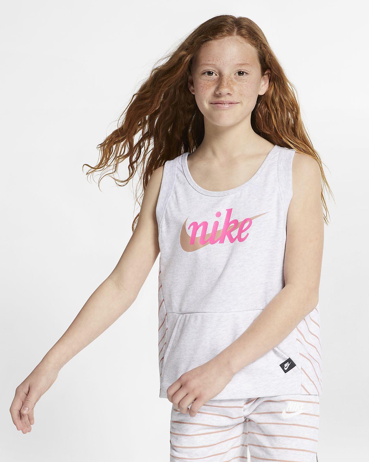 Nike Sportswear singlet til store barn (jente)