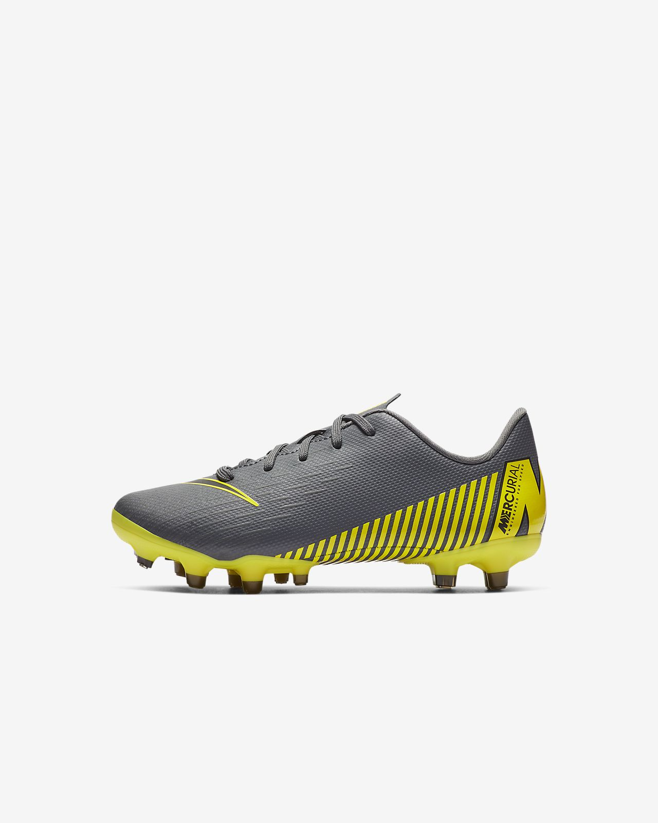 Nike Jr. MercurialX Vapor XII Academy Toddler/Younger Kids' Multi-Ground Football Boot
