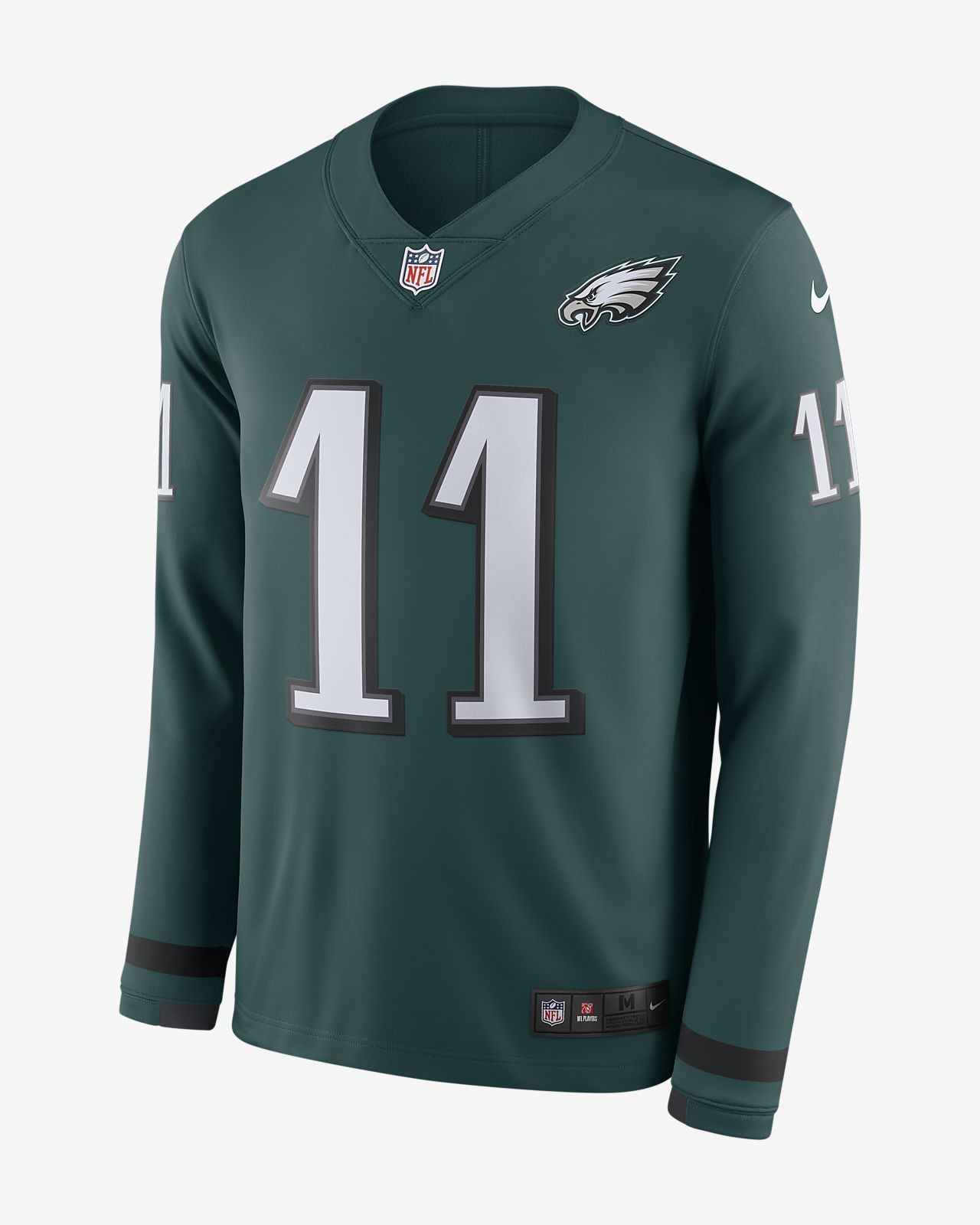30d9d109c4c NFL Philadelphia Eagles Jersey (Carson Wentz) Men s Long-Sleeve ...