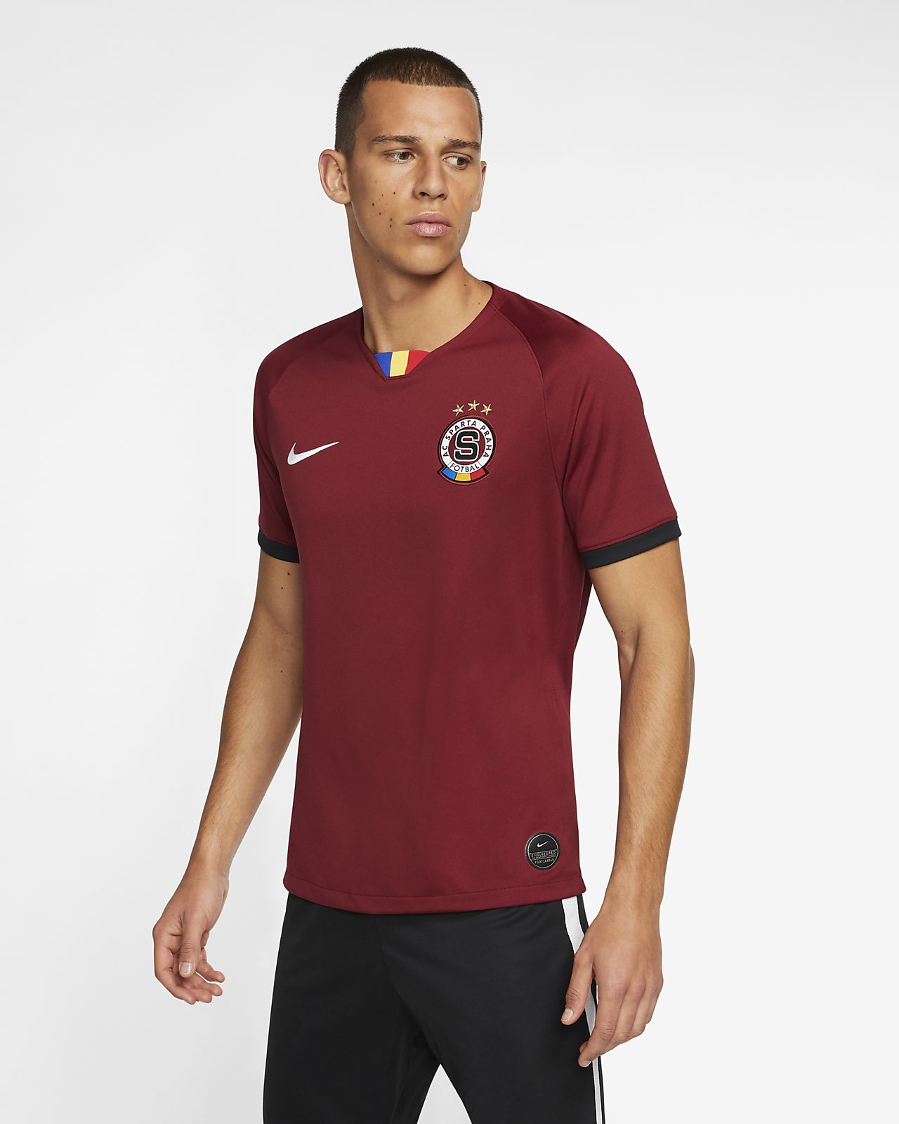 AC Sparta Prague 2019/20 Stadium Home Men's Football Shirt