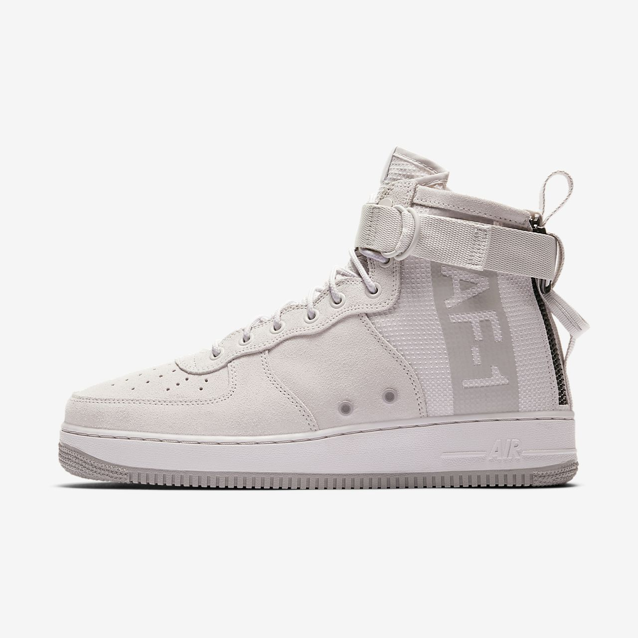 Nike SF Air Force 1 Mid Men's Lifestyle Shoes White/Grey yA5595G