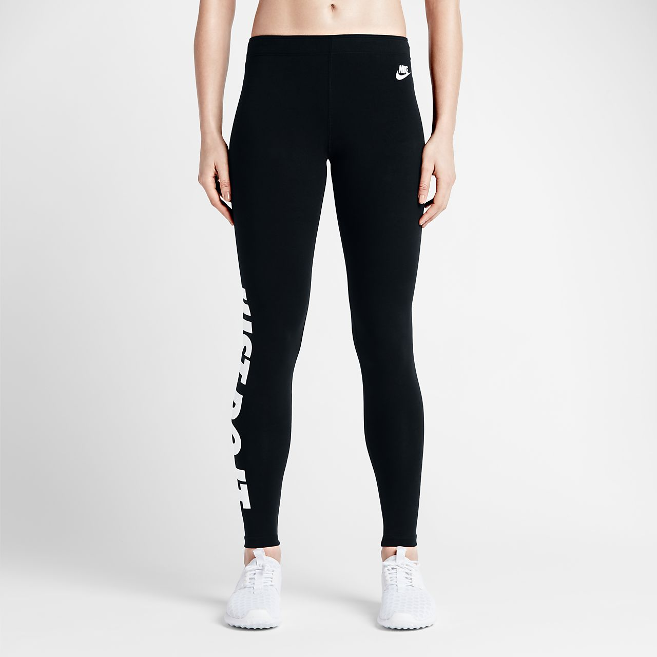 Nike Leg-A-See Just Do It Leggings Girls Black/White