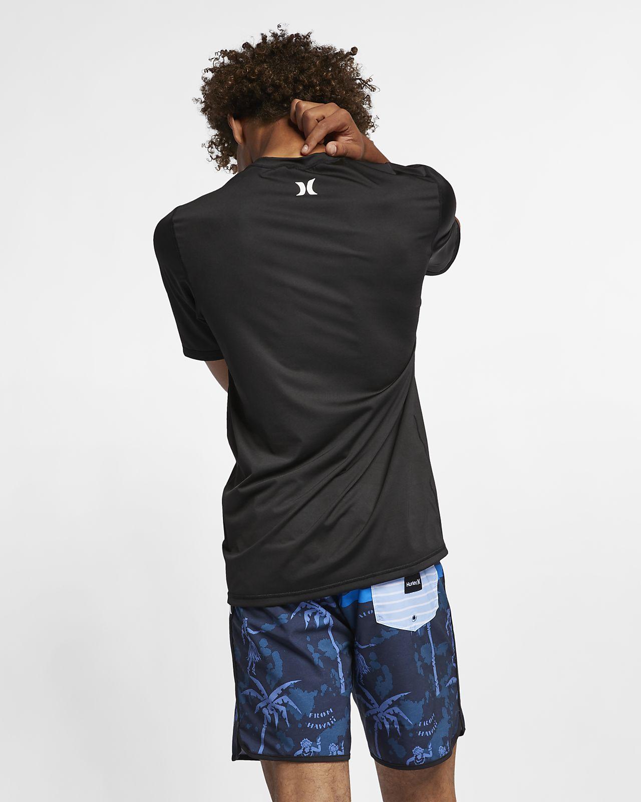 d191c026ba Camiseta de surf manga corta para hombre Hurley One And Only. Nike ...