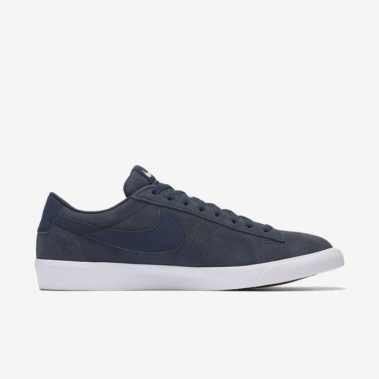 Nike Blazers Low Men Shoes Royalblue Black &EV9kf
