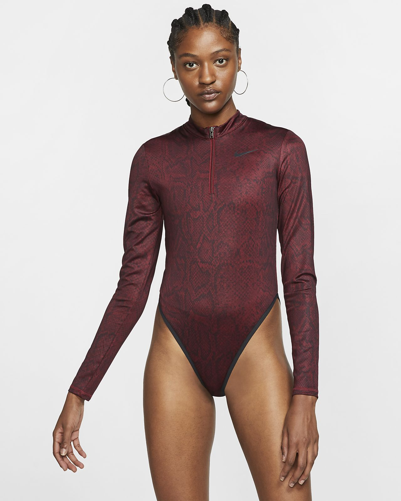 Body de manga larga para mujer Nike Sportswear