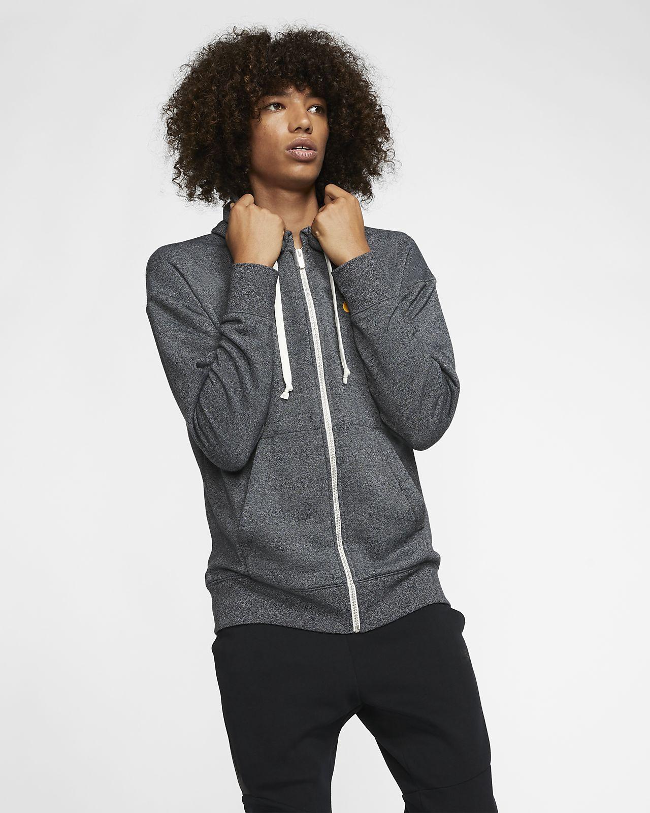 kup tanio sprzedaż obuwia jakość Męska bluza z kapturem i zamkiem na całej długości Nike Sportswear Heritage