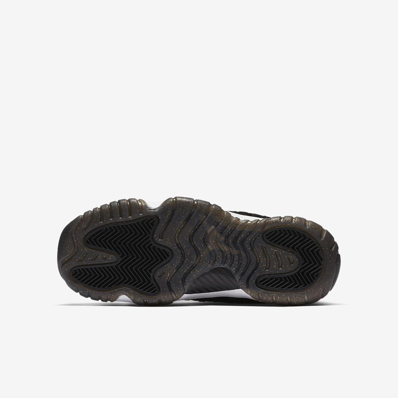 jordan shoes boys 6.5y black and gold nz