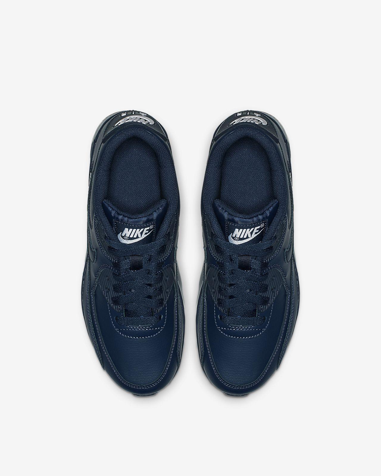 0b99a7196e Nike Air Max 90 Leather Older Kids' Shoe. Nike.com GB