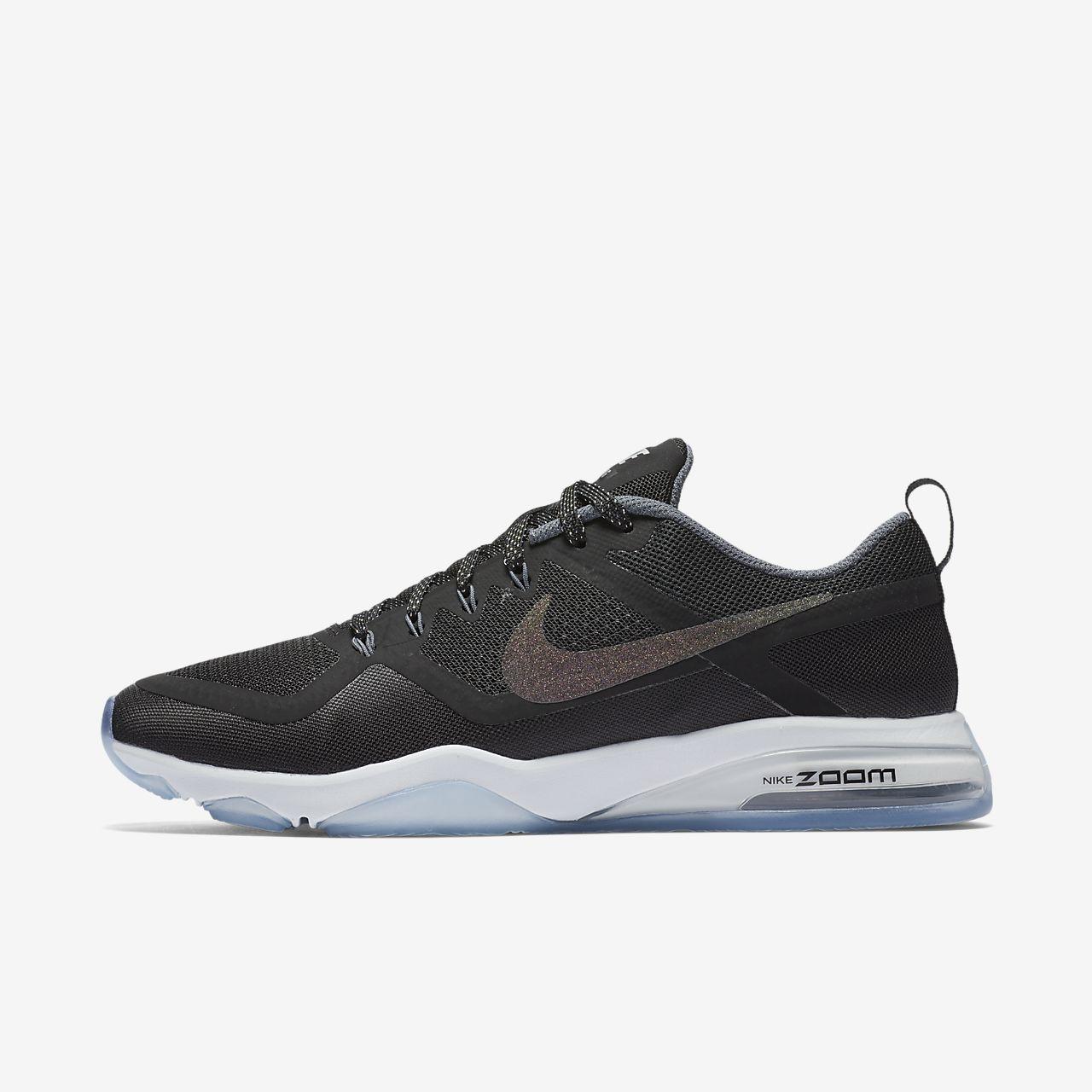Nike Zoom Fitness Women's Training Shoes Black/White hE8254M