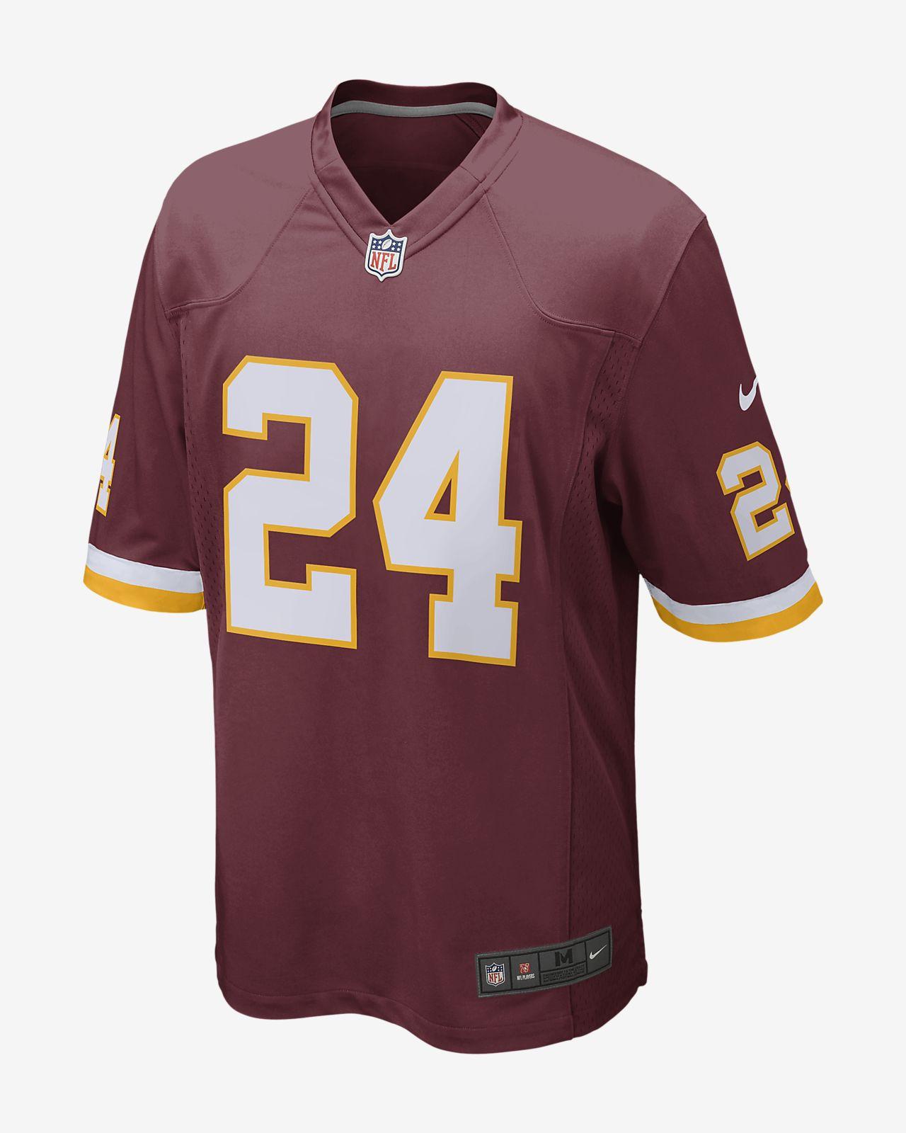 NFL Washington Redskins (Josh Norman) Men's Football Game Jersey