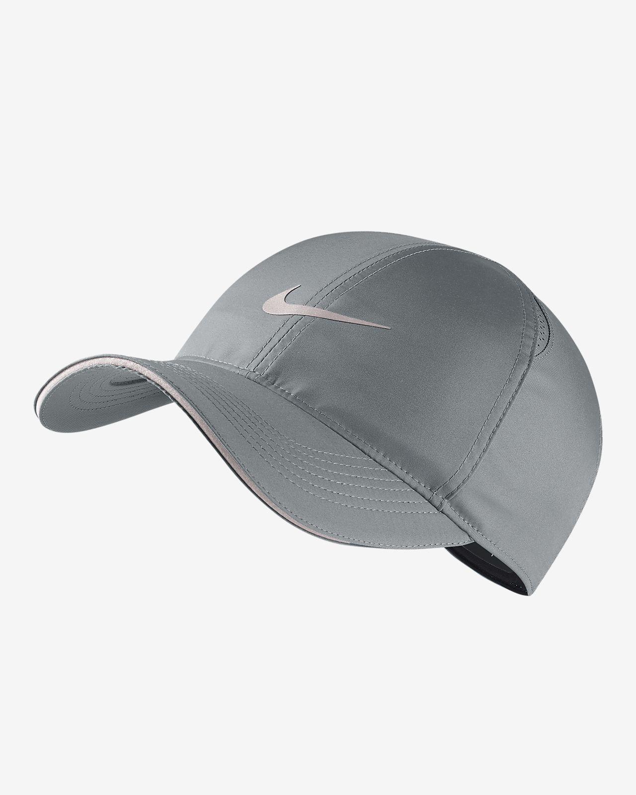 หมวกวิ่งปรับได้ Nike Featherlight