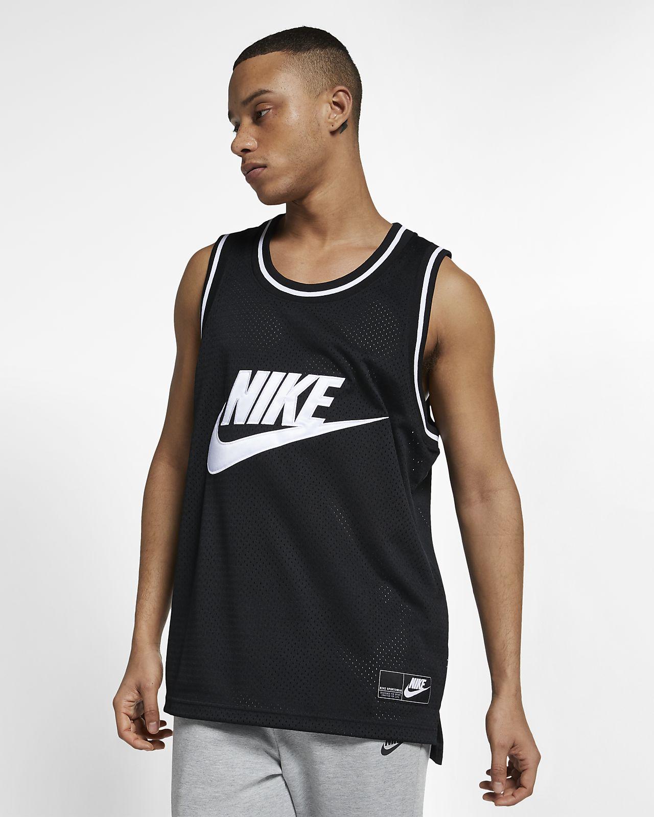 Camiseta de tirantes de malla para hombre Nike Sportswear