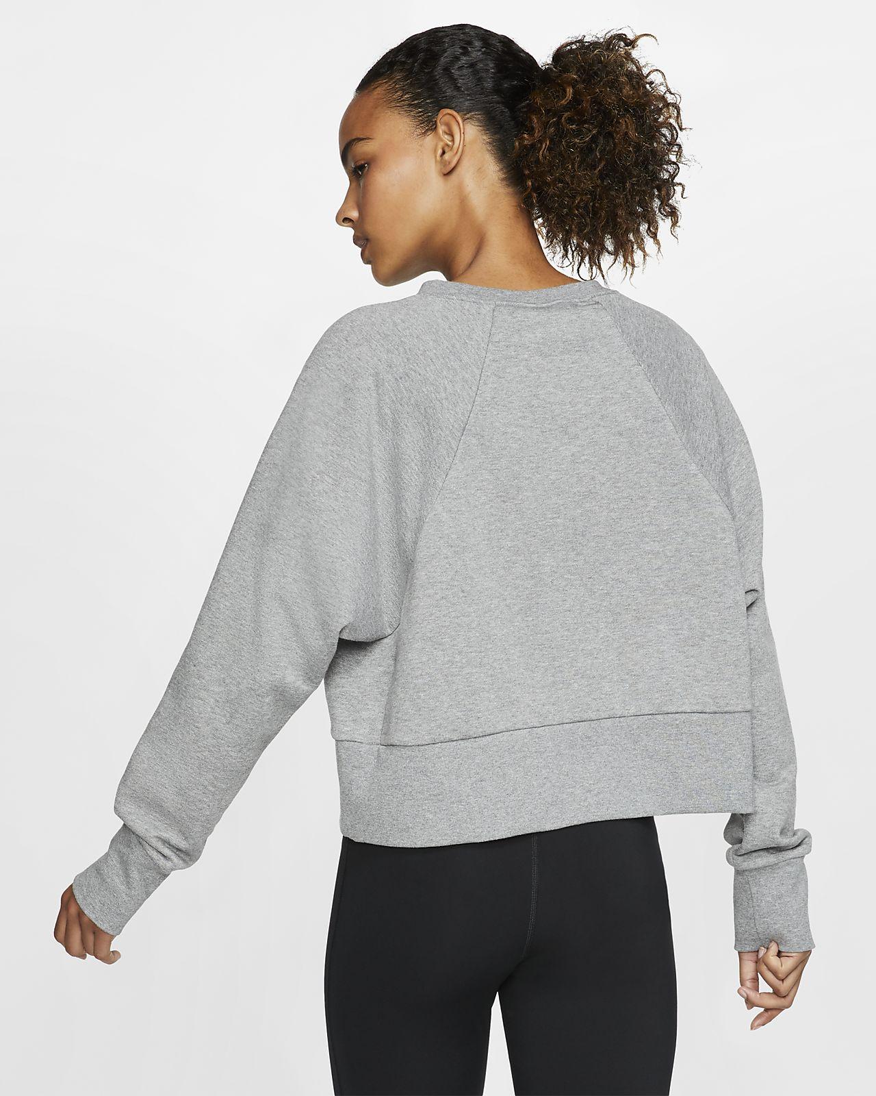 Nike Dri FIT Get Fit Women's Fleece Training Crew