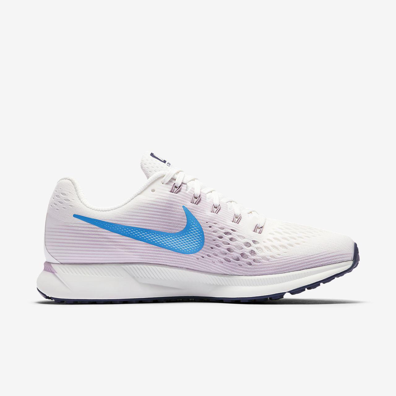 Nike Course Formateurs Pégase Zoom Air En Blanc - Blanc Sommet / Équateur Utm6S20