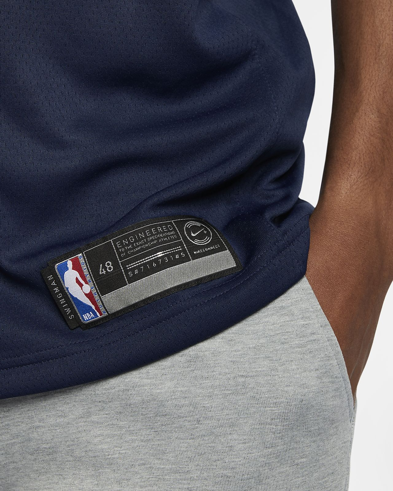 5f754c8bbb41 ... Rudy Gobert Icon Edition Swingman (Utah Jazz) Men s Nike NBA Connected  Jersey