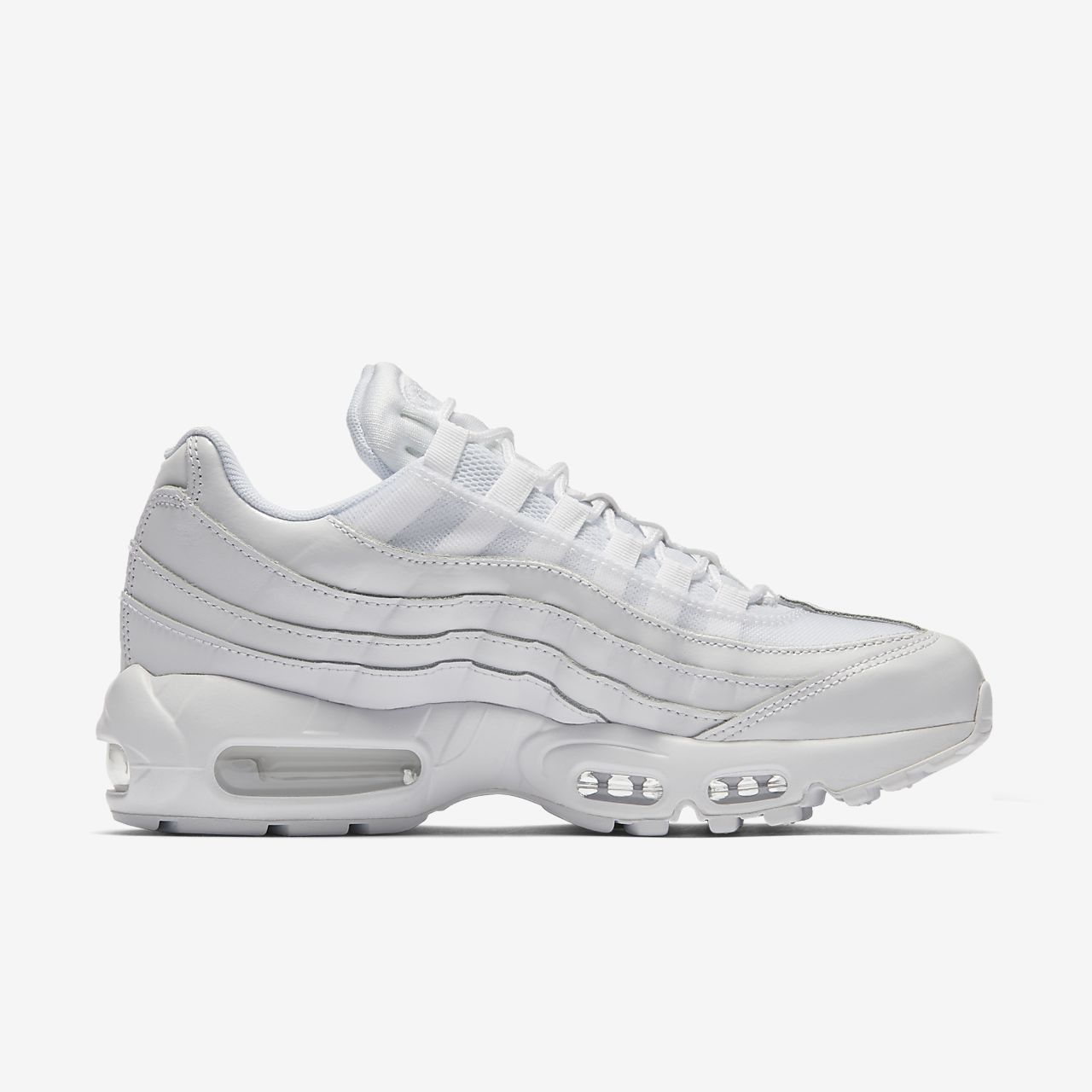 nike air max 95 dames zwart wit