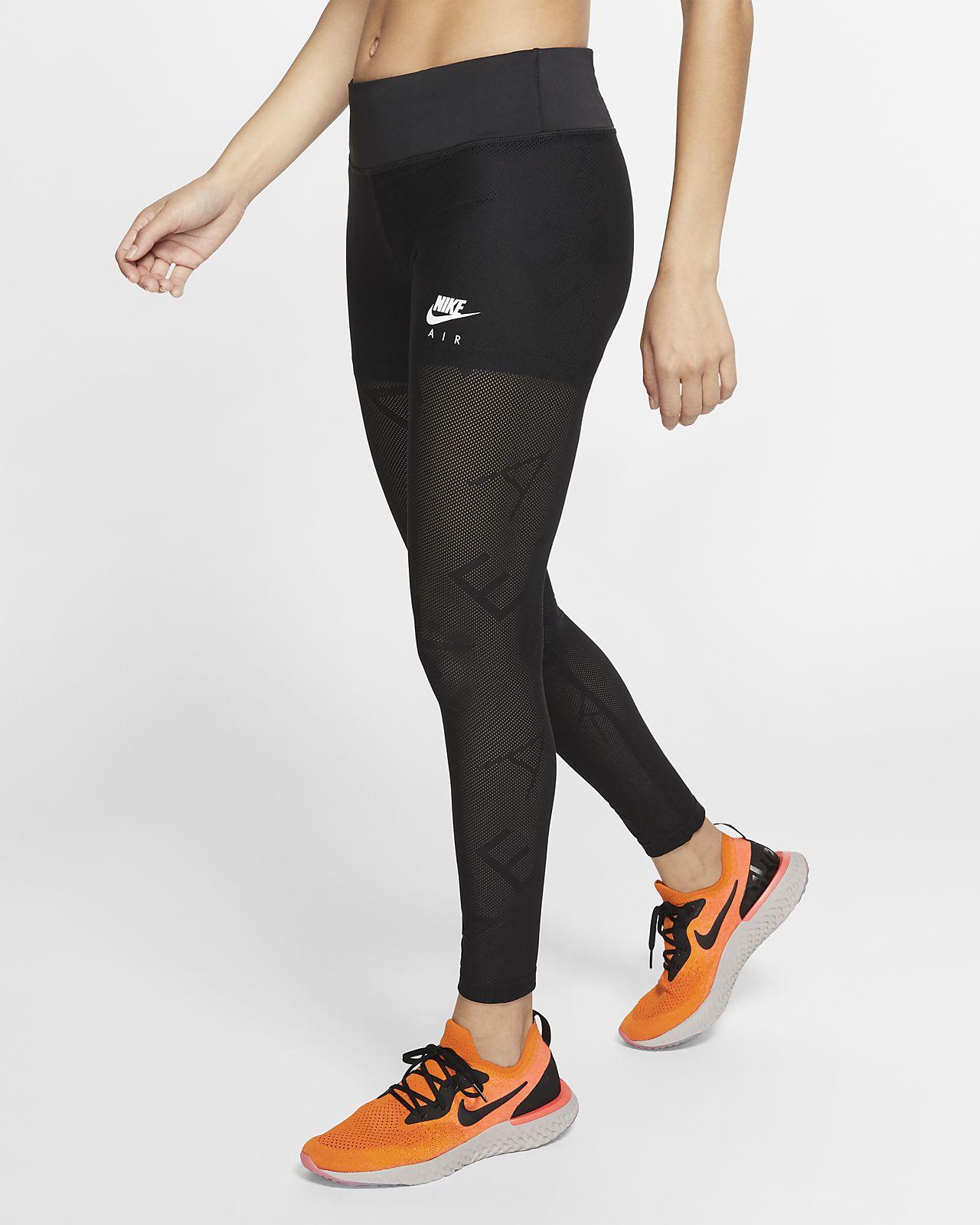 Nike Air 7/8-os hálós testhezálló női futónadrág