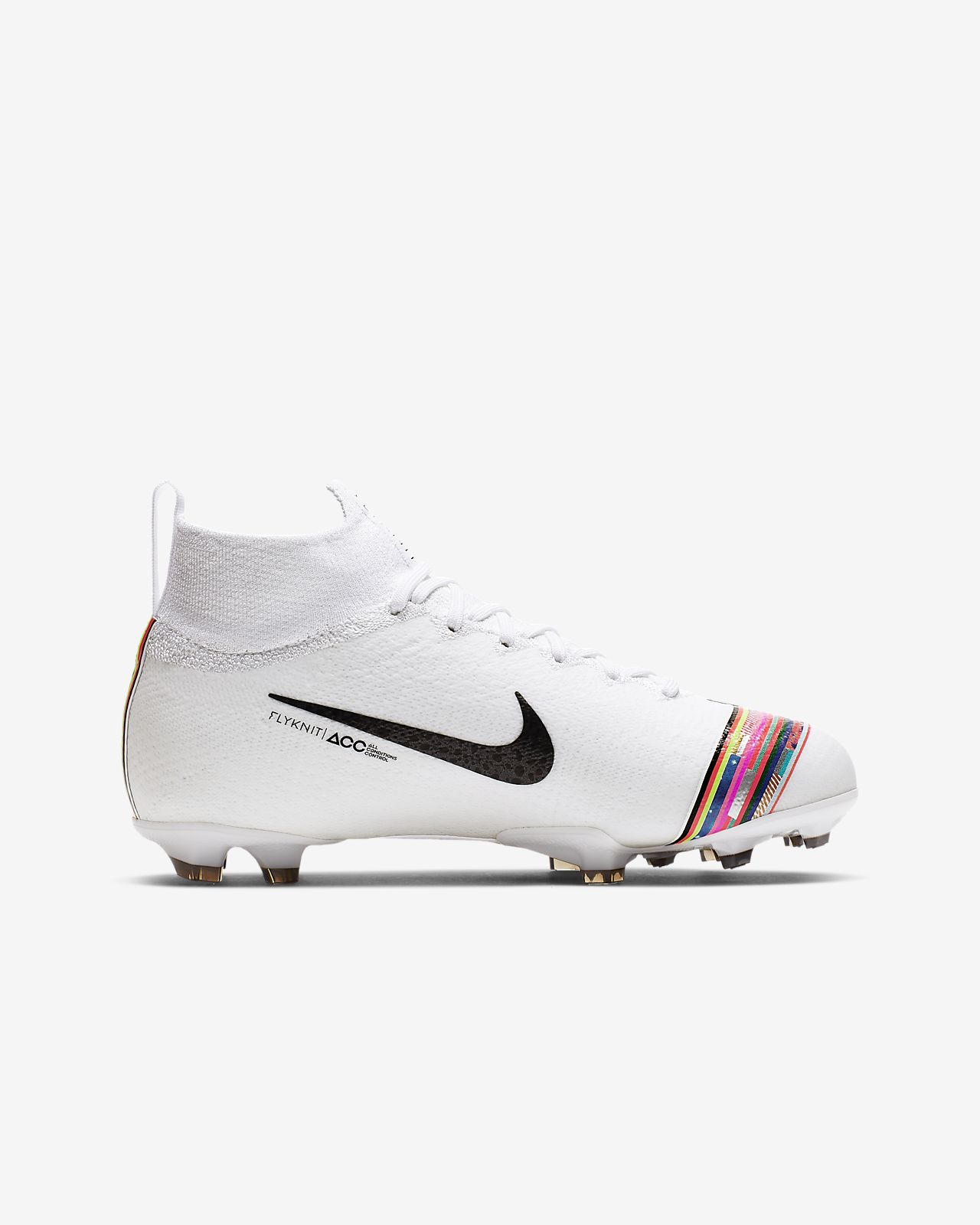 hot sale online 1df91 e929c Nike Jr. Superfly 6 Elite LVL UP FG Younger/Older Kids' Firm-Ground  Football Boot