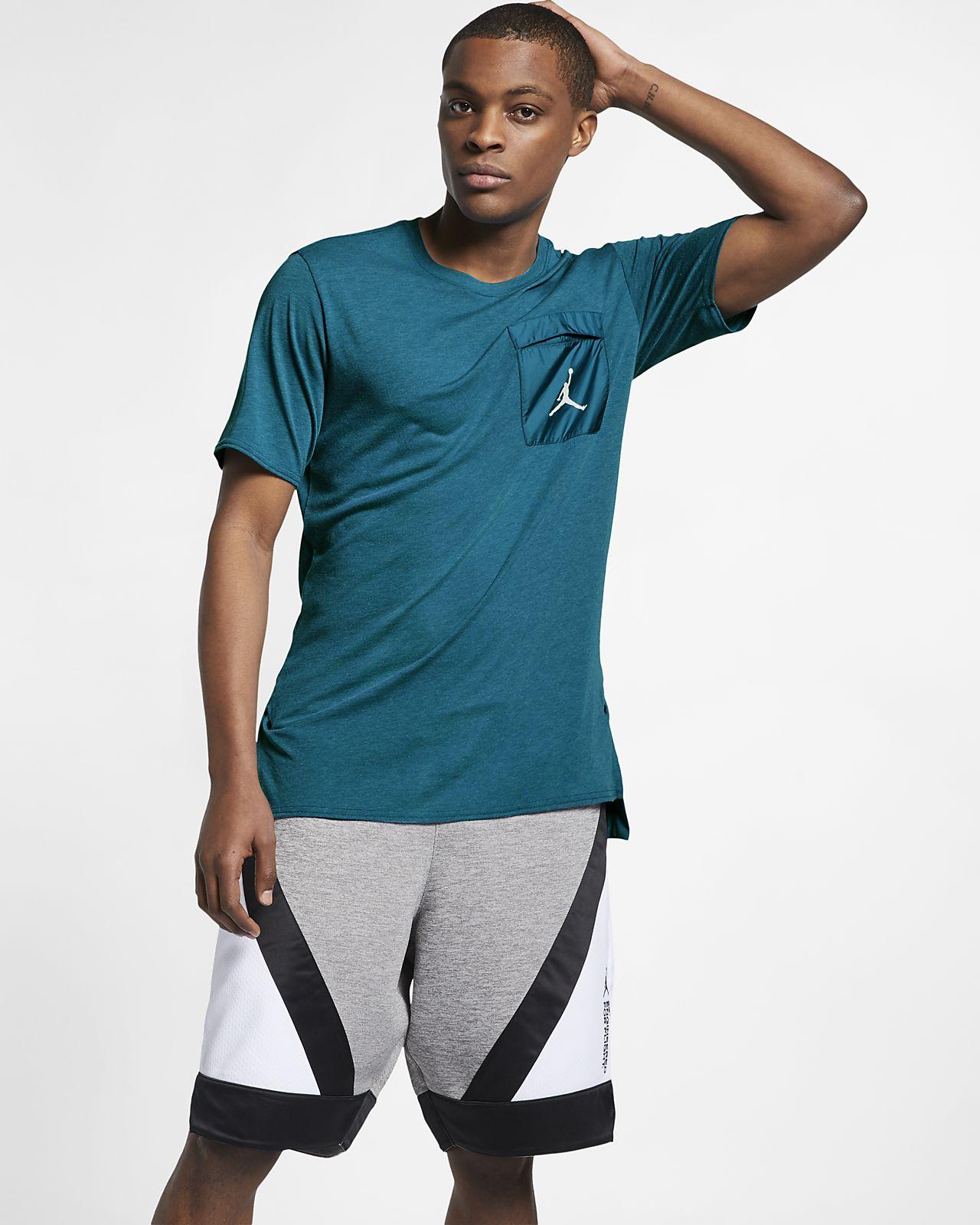 Kortärmad träningströja Jordan 23 Engineered Cool för män