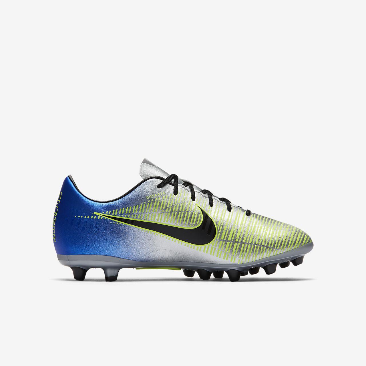 ... Nike Jr. Mercurial Victory VI Neymar AG-PRO Older Kids' Artificial-Grass