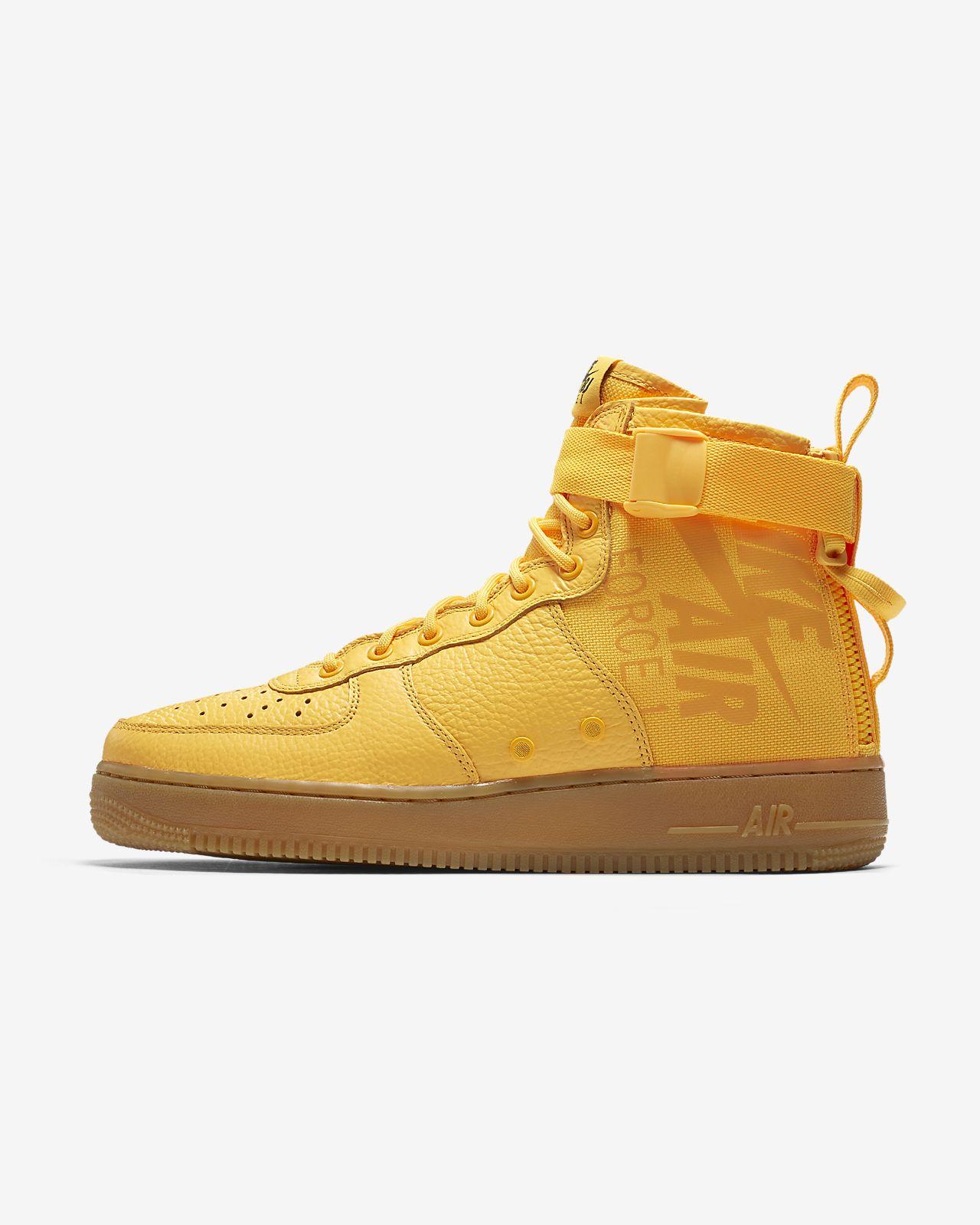 nike scarpa air force 1 mid sneaker uomo