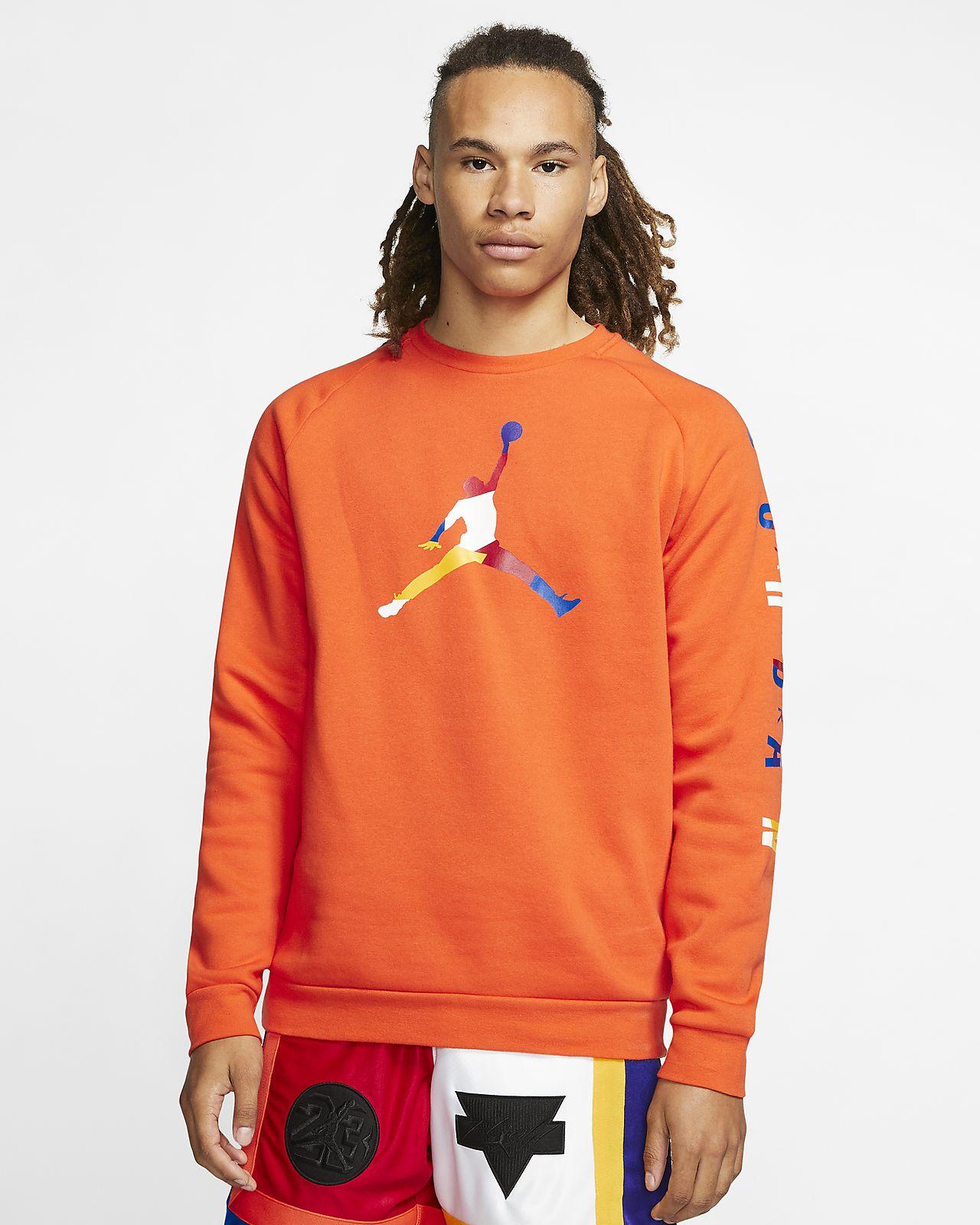 Jordan DNA Fleece-Rundhalsshirt