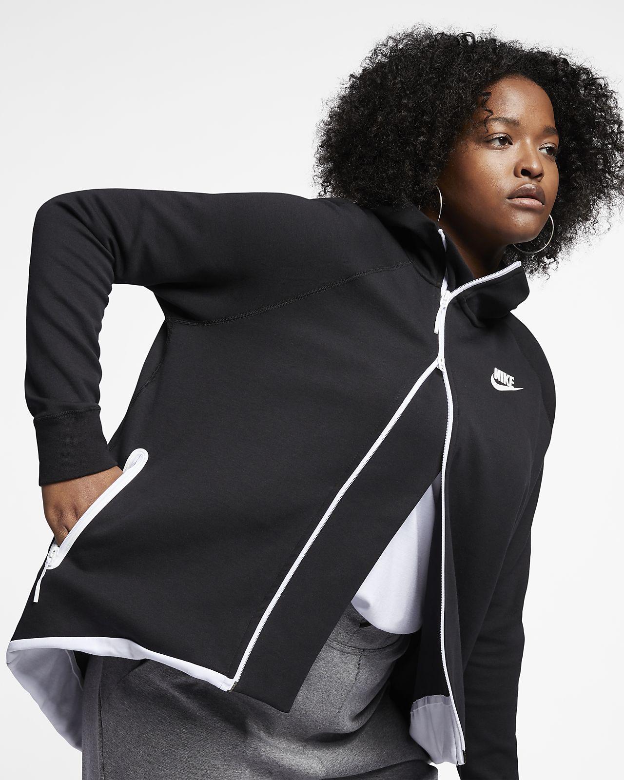 Femme Cape Fleece Nike Veste Sportswear Pour Tech Entièrement Zippée Axwfxq6H