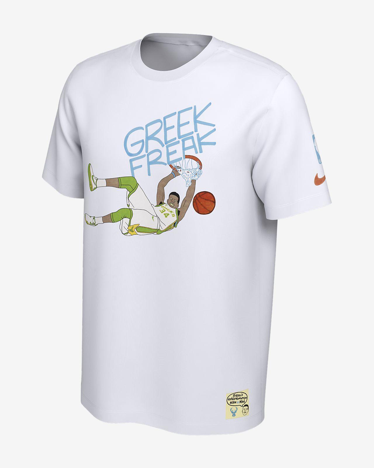 c6b417e195f ... T-Shirt Nike x Gangster Doodles