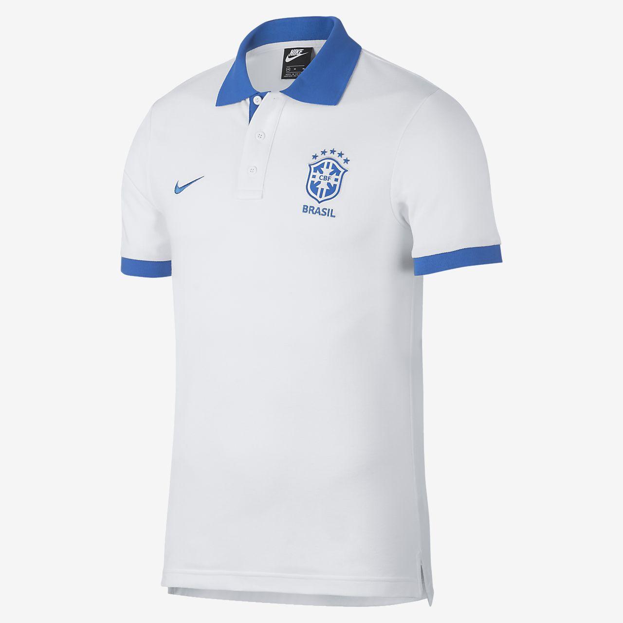Brazil CBF Men's Football Polo