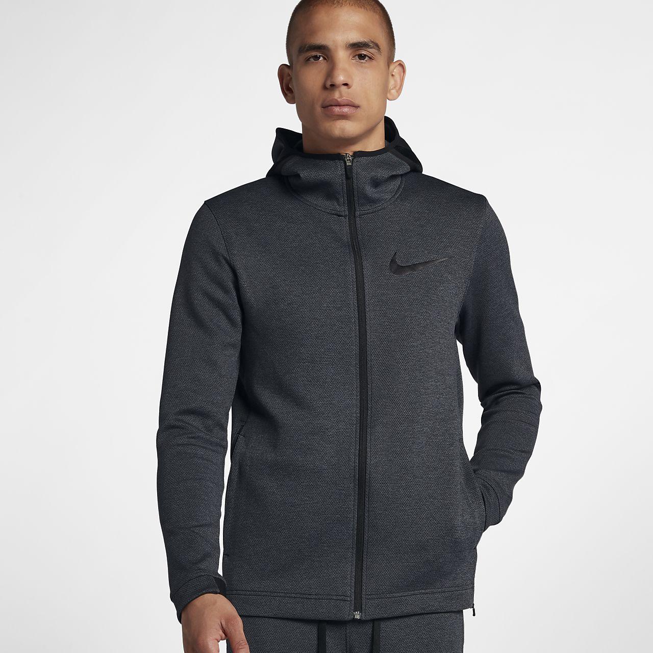 Pánská basketbalová mikina Nike Therma Flex Showtime s kapucí a dlouhým zipem