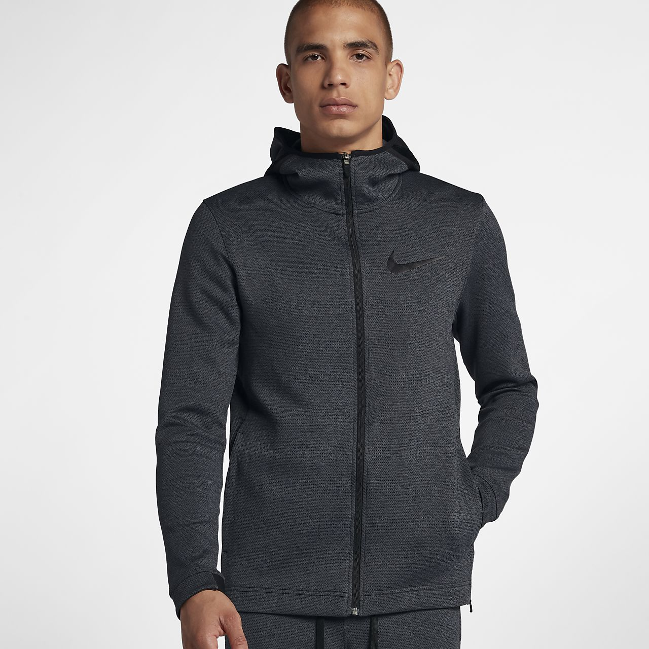 Sweat à capuche de basketball entièrement zippé Nike Therma Flex Showtime pour  Homme 53c98133f5ca