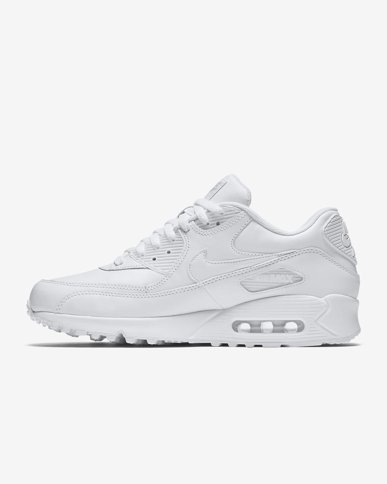 Nike Air Max 90 Leather White | Mens White Nike Air Max|Nike Air Max 90