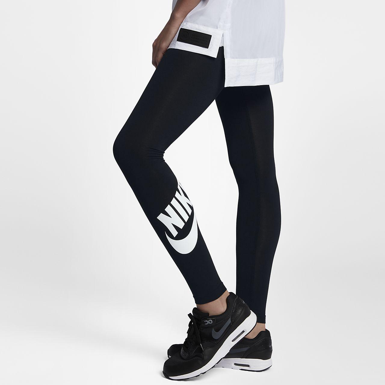 nike leggings logo