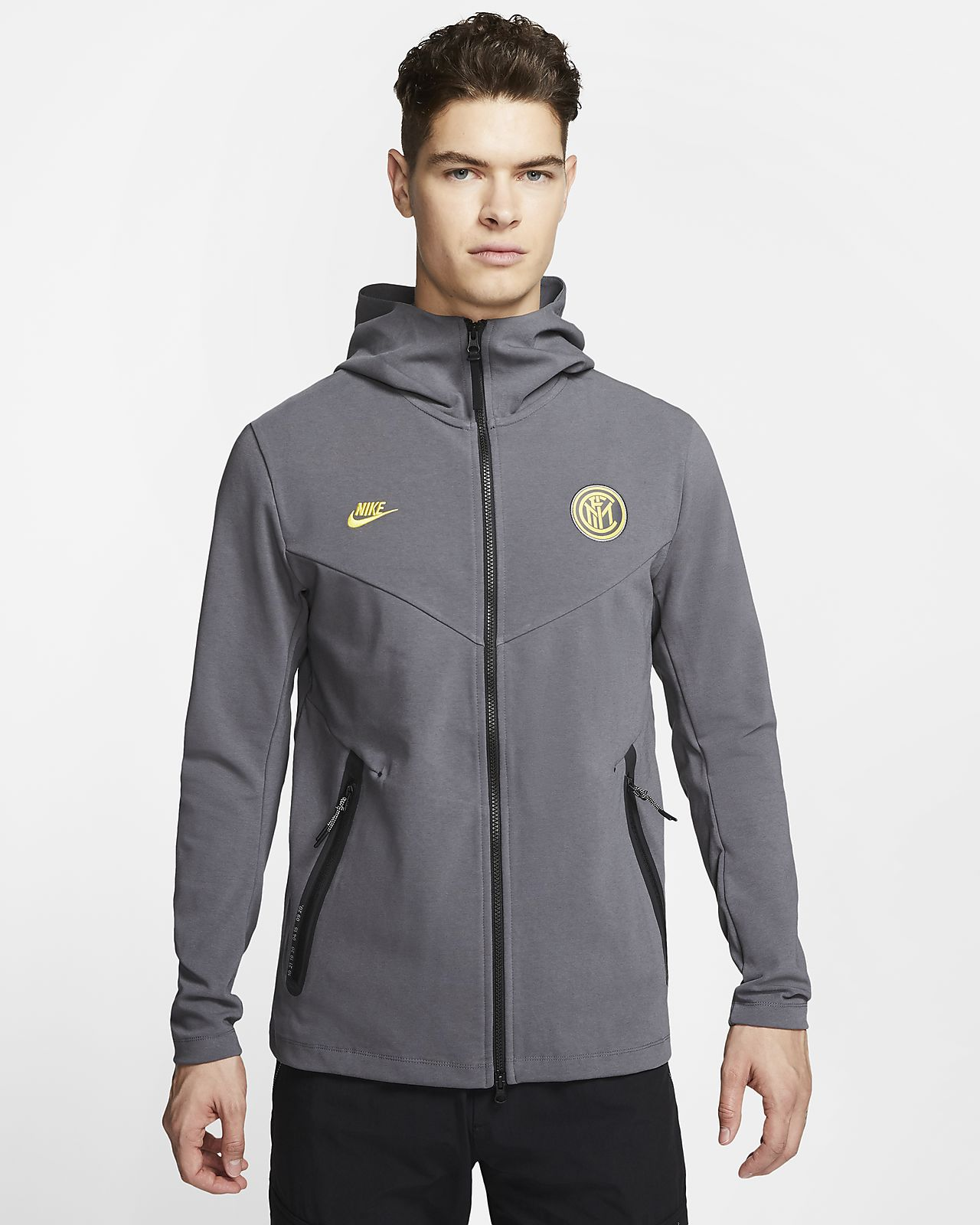 Inter Milan Tech Pack Men's Full Zip Hoodie