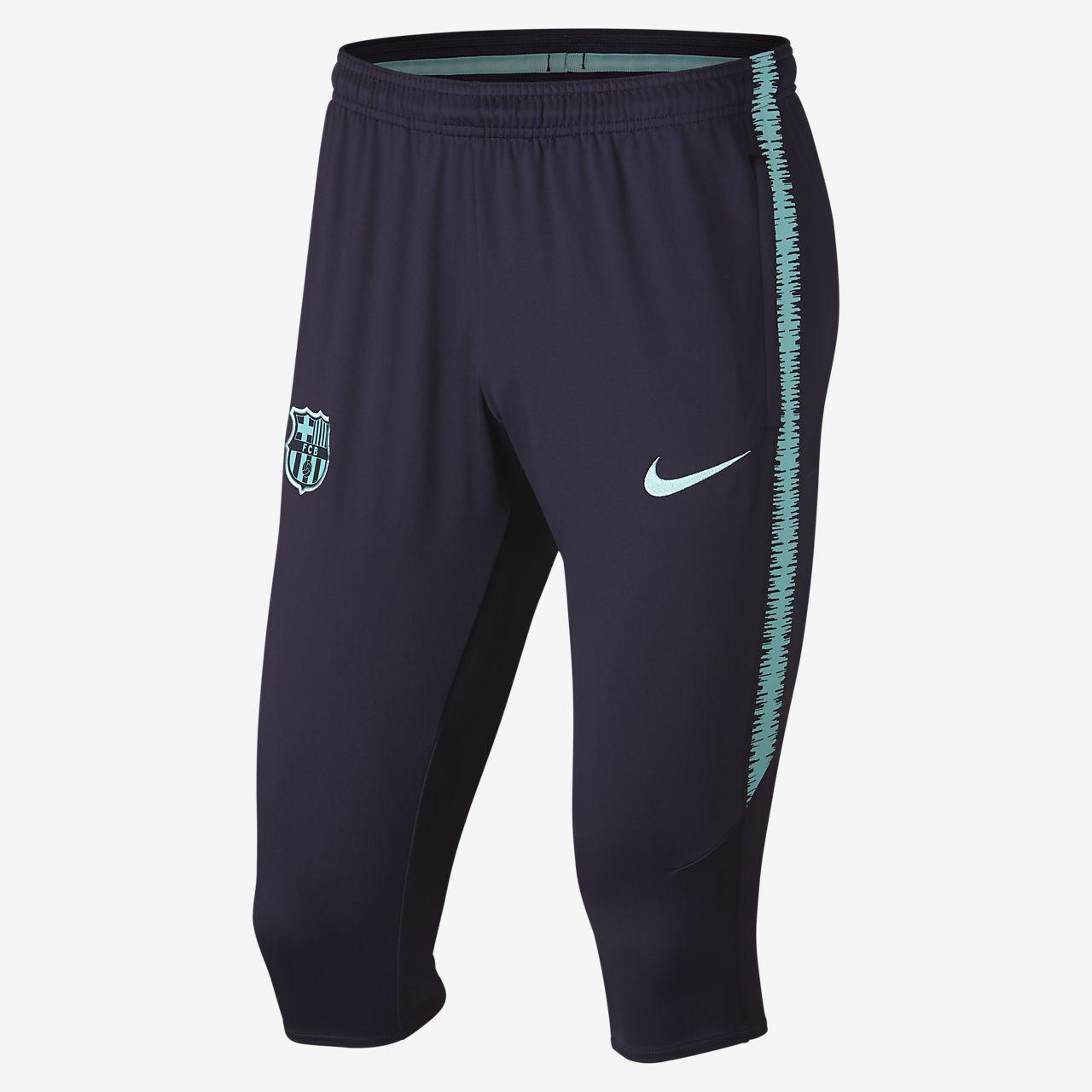 FC Barcelona Dri-FIT Squad Pantalón de fútbol de 3 4 - Hombre. Nike ... ec6924270b4c8