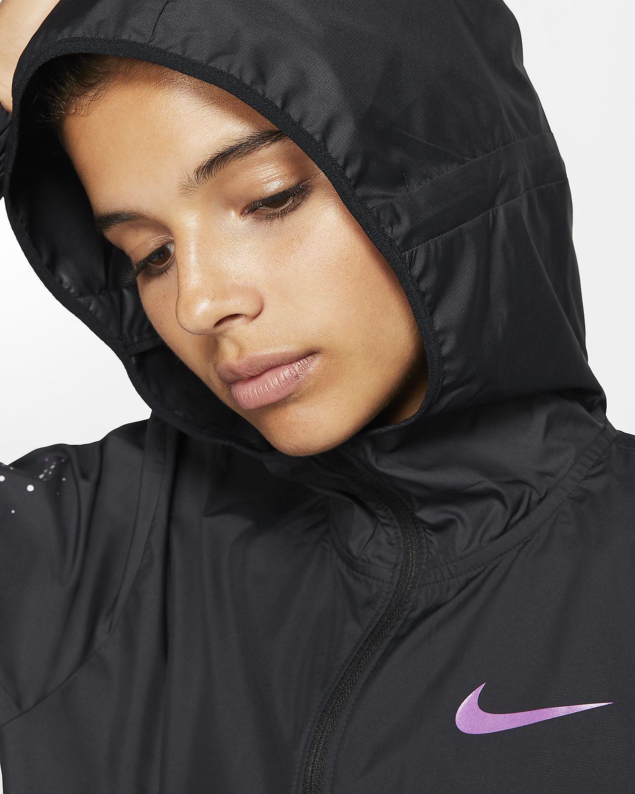 Nike Damen Laufjacke mit durchgehendem Reißverschluss